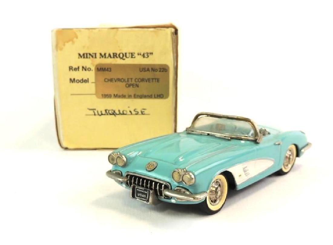Mini Marque 1959 Chevrolet Corvette Open Die-Cast Car