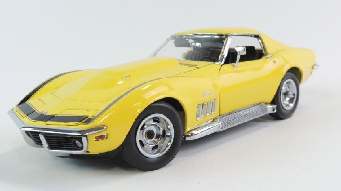 Danbury Mint 1969 Chevrolet Corvette ZL-1 Die-Cast Car