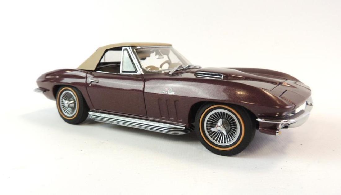 Danbury Mint 1965 Chevrolet Corvette Convertible