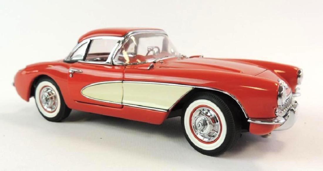 Danbury Mint 1956 Chevrolet Corvette Roadster Die-Cast