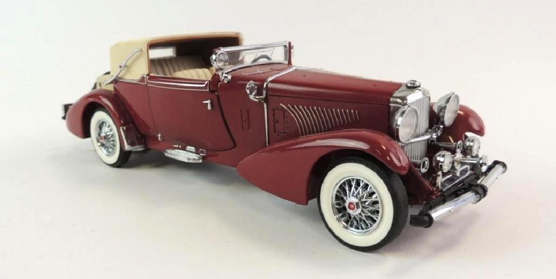Franklin Mint 1933 Duesenberg Die-Cast Car