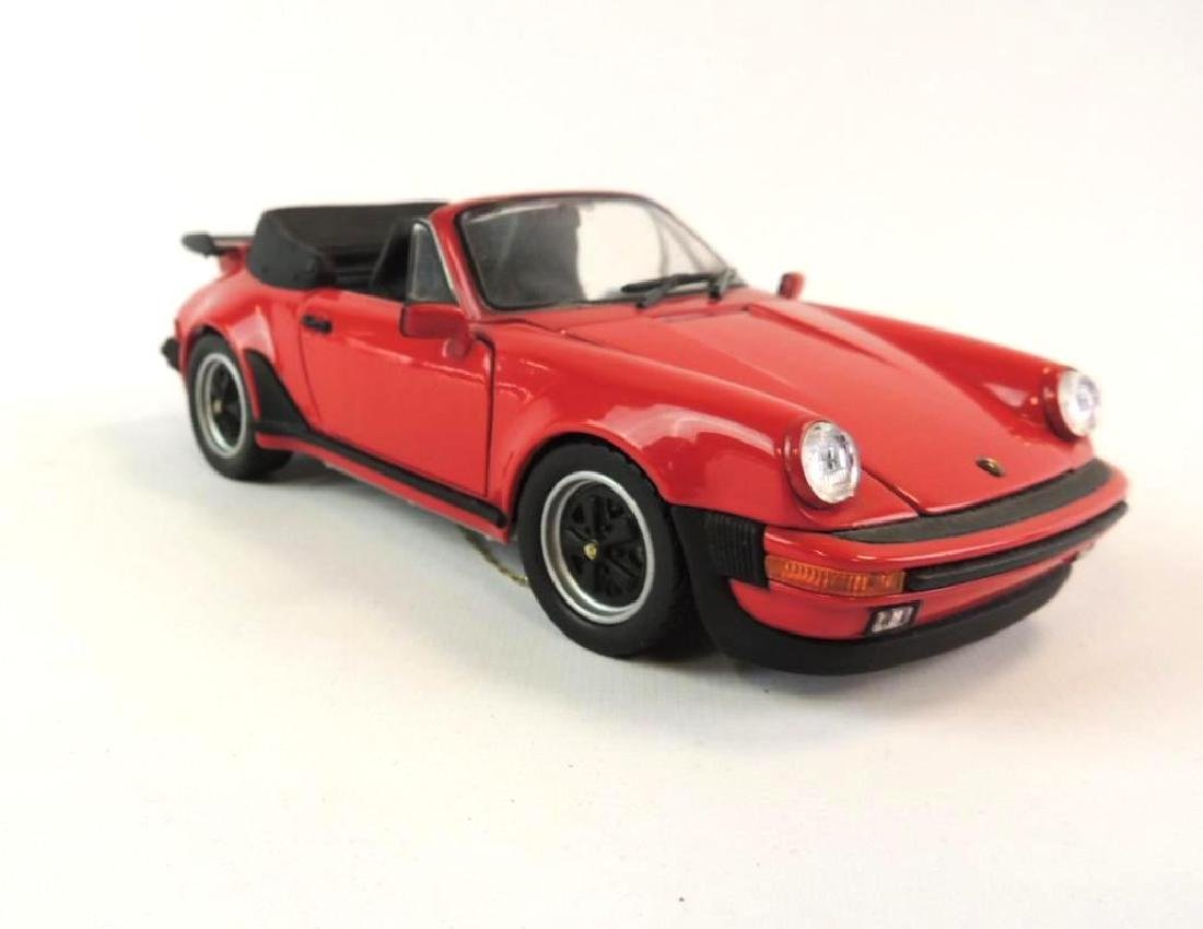 Franklin Mint 1988 Porsche 911 Cabriolet Die-Cast Car