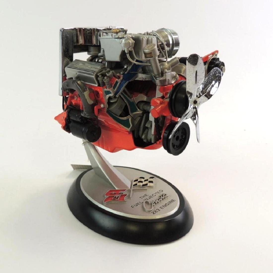 Franklin Mint Corvette 283 Die-Cast Engine Model
