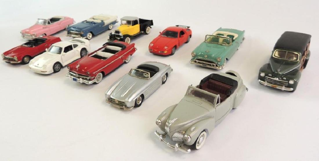 Group Of 11 Die-Cast Cars Featuring Buick 1950