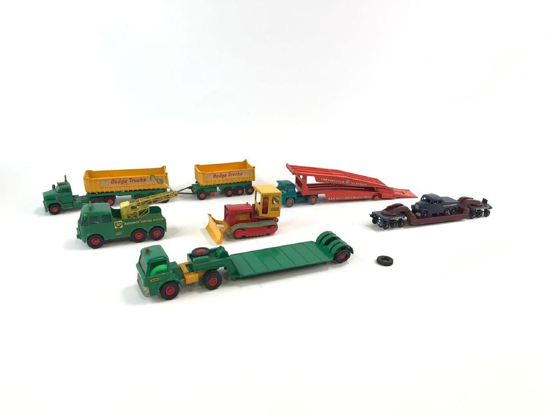 "Group Of 7 Matchbox ""Made In England By Lesney"" Trucks"