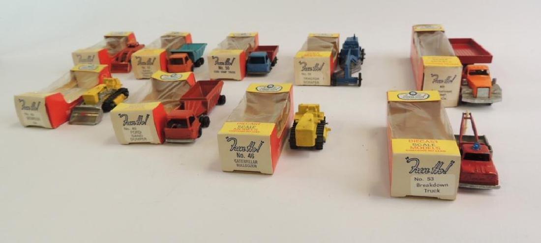 """Group Of 9 Vintage """"Fun Ho"""" Die-Cast Cars"""