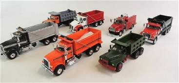 Group Of 7 Die-Cast Trucks Featuring First Gear R.W.
