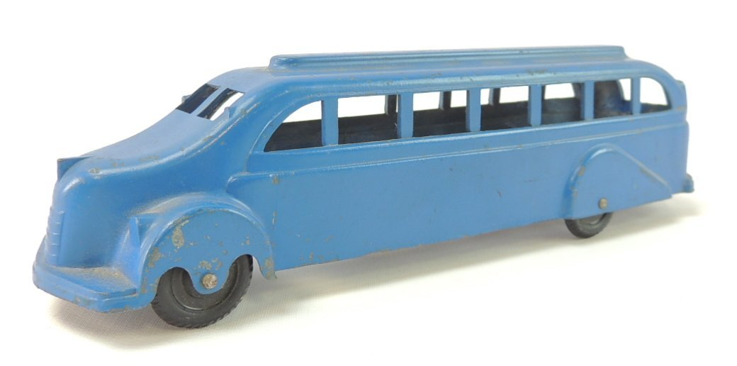 Pre War U.S. Made Metal Masters Co. Toy Bus