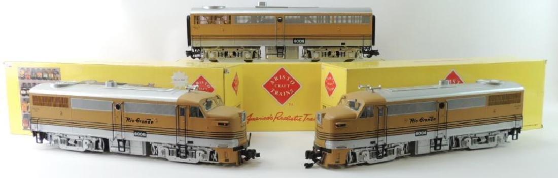 Aristo Craft Trains Rio Grande 6004-06 G-Scale Alco