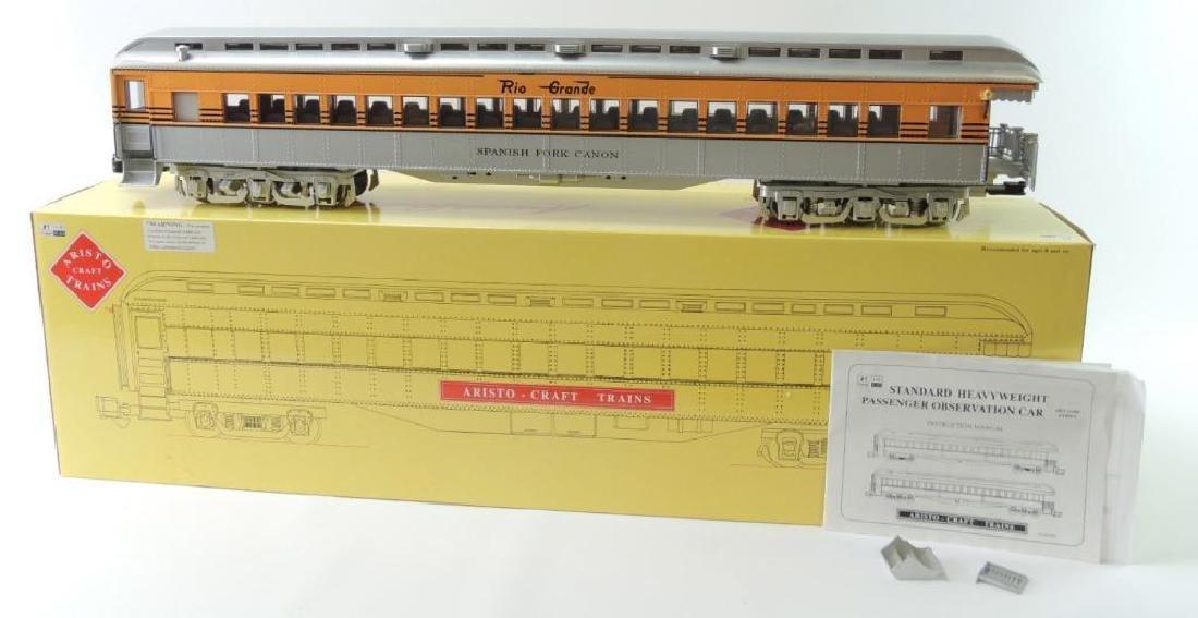 Aristo Craft Trains Rio Grande G-Scale Passenger