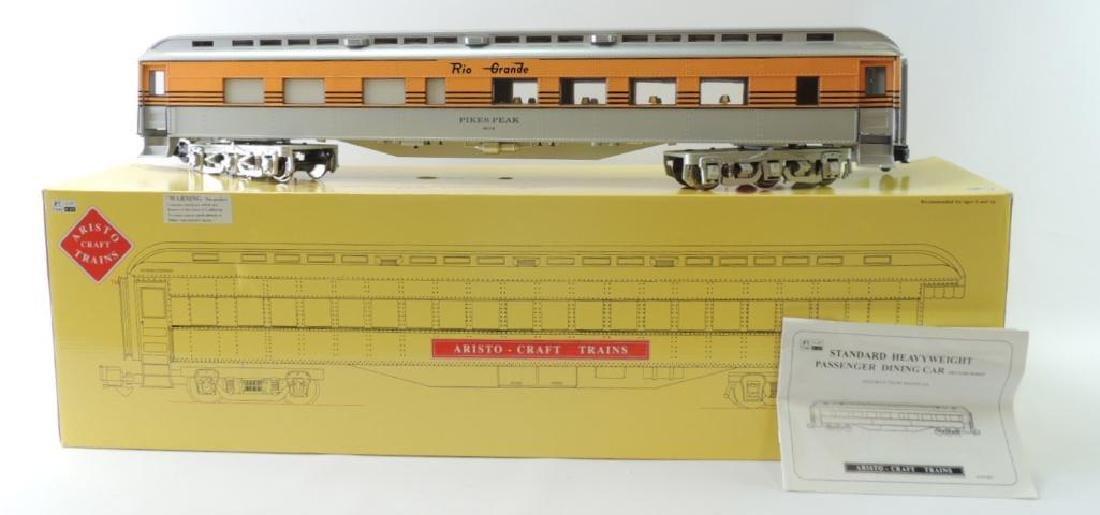 Aristo Craft Trains Rio Grande G-Scale Passenger Dining