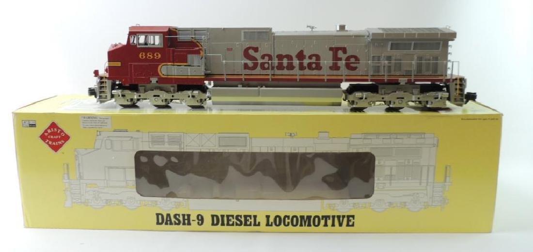 Aristo Craft Trains Rio Grande G-Scale Dash-9 Diesel