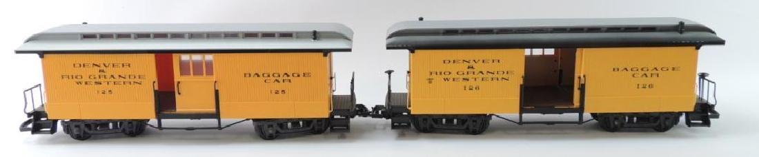 LGB Trains Denver & Rio Grande Western G-Scale Baggage
