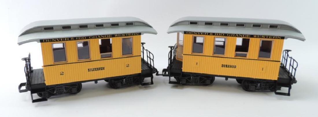 Group Of 2 LGB Trains Denver & Rio Grande Western