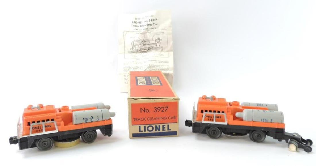 Group Of 2 Vintage Lionel Trains O-Scale Track Cleaning