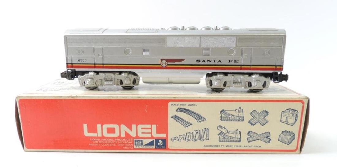Lionel Train O-Scale Santa Fe F-3 Car With Original Box