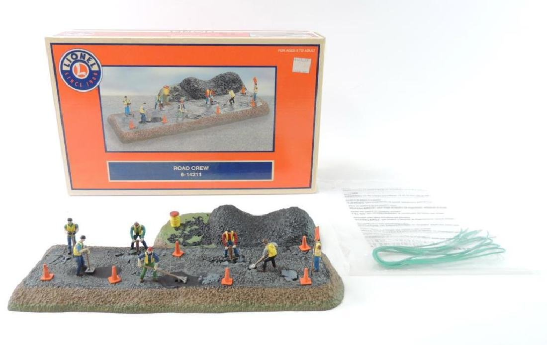 Lionel Train O-Scale Road Crew With Original Box