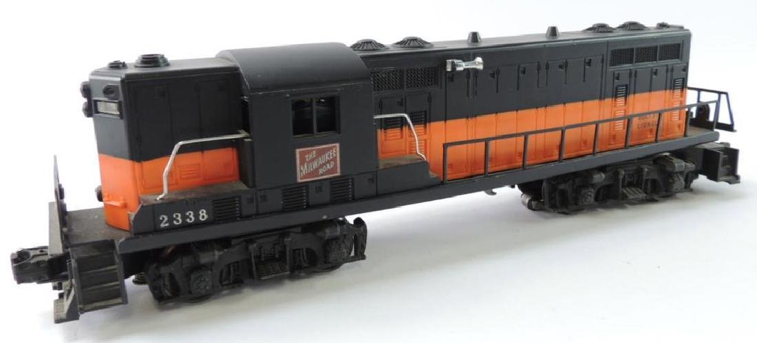 "Lionel Trains O-Scale ""The Milwaukee Road"" Locomotive"