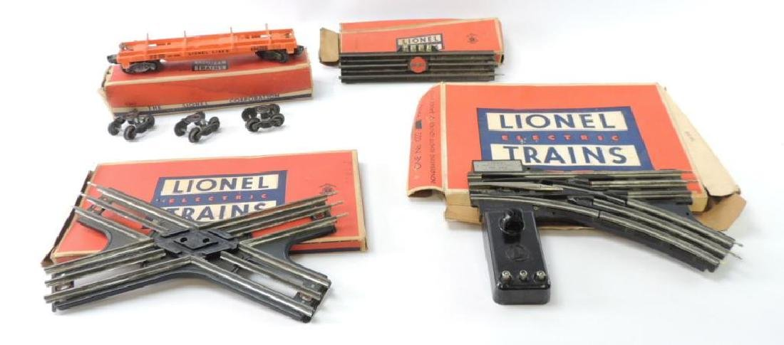 Group Of Vintage Lionel O-Scale Track And Train