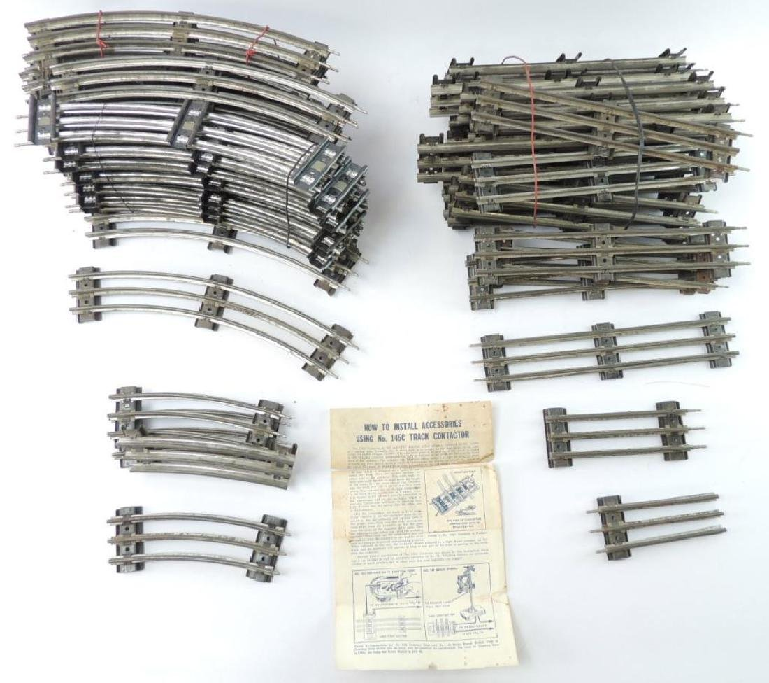 Group Of 51 Pcs. Of Lionel Trains O-Scale Tracks