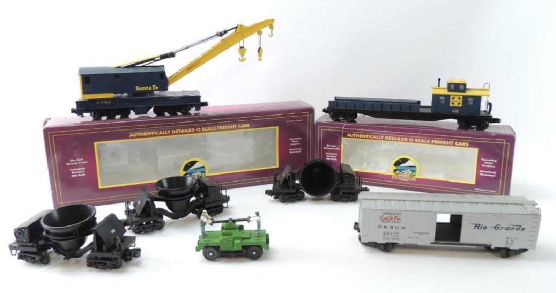 Group Of 7 M.T.H.Trains O-Scale Santa Fe & Rio Grande