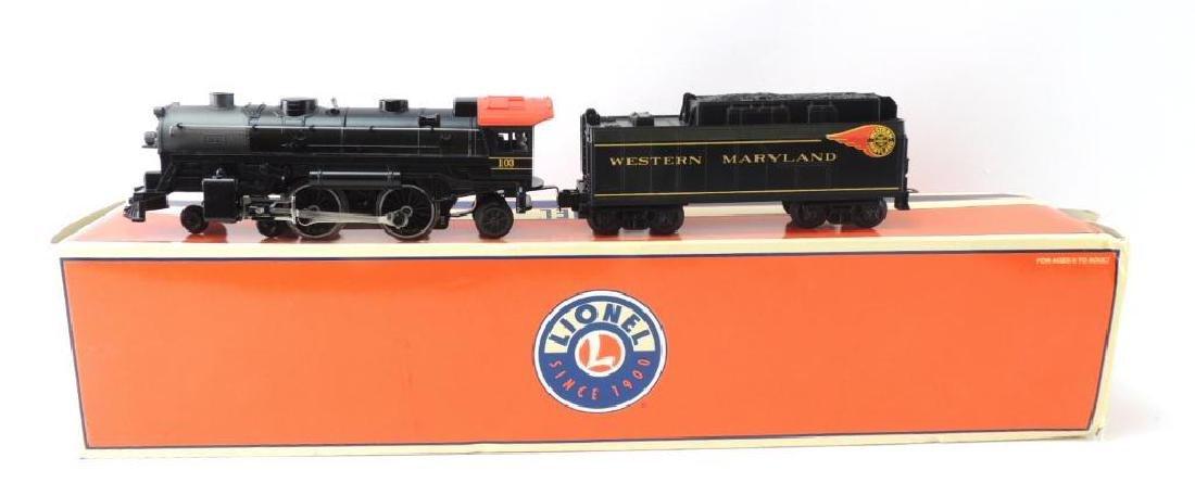 Lionel Trains Western Maryland Locomotive And Tender
