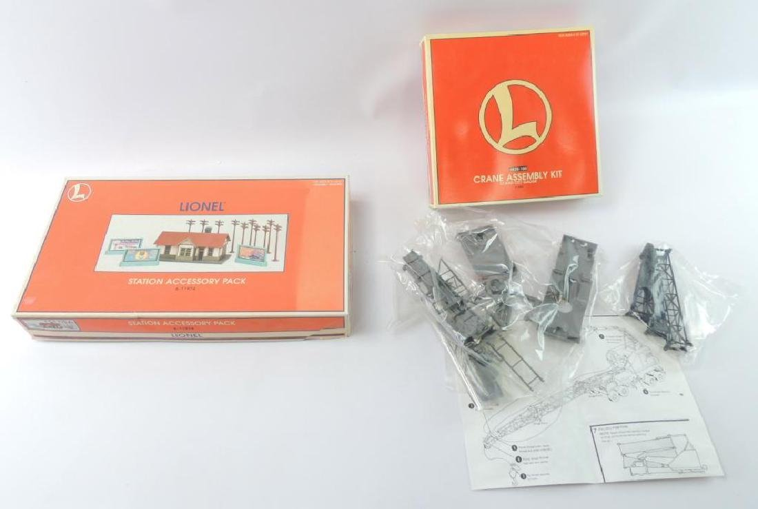Group Of 2 Lionel Trains Accessory Model Kits In