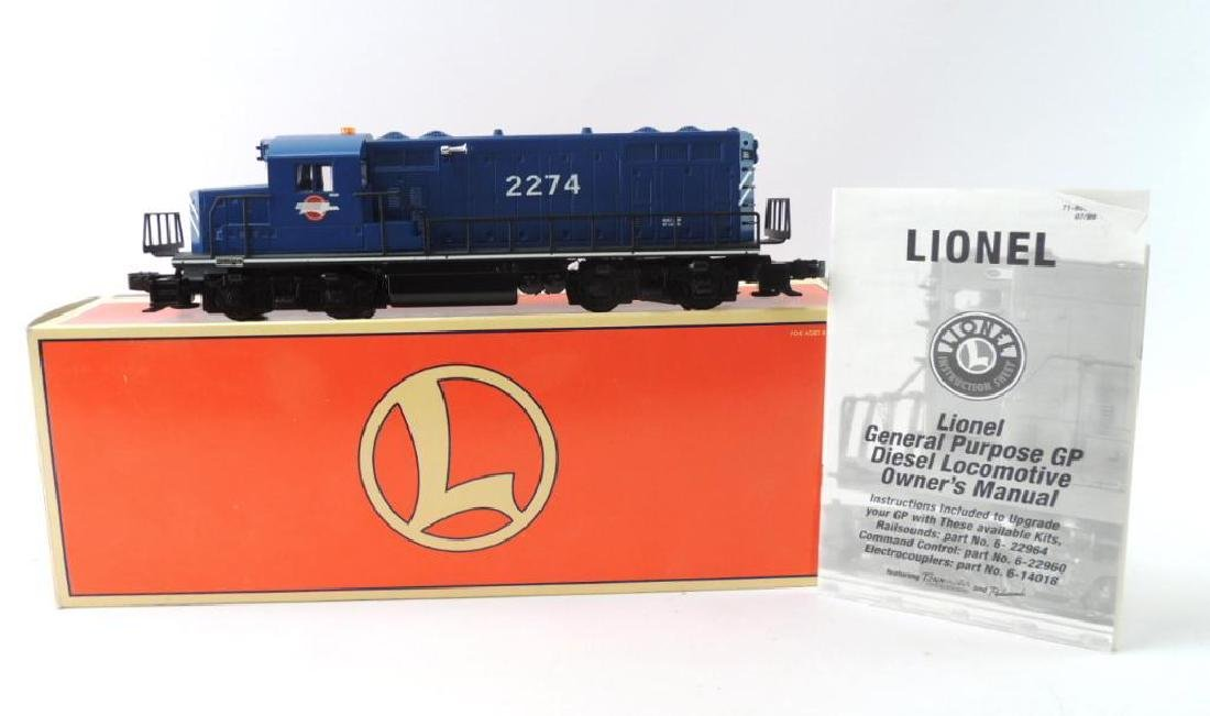 Lionel Trains GP-20 Mopac Command O-Gauge Locomotive