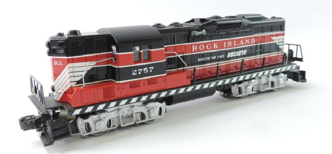 "Lionel Trains O-Scale ""Rock Island"" Locomotive With"