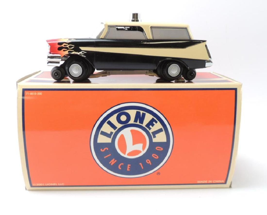 Lionel Trains O-Scale Hot Rod Inspection Vehicle With