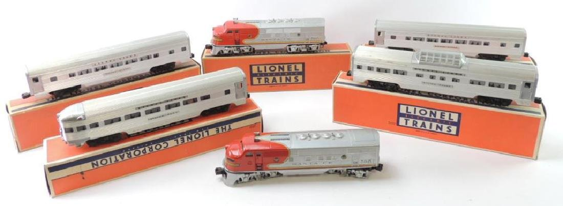 Vintage Lionel Train Set O-Scale #2190W Original Boxes