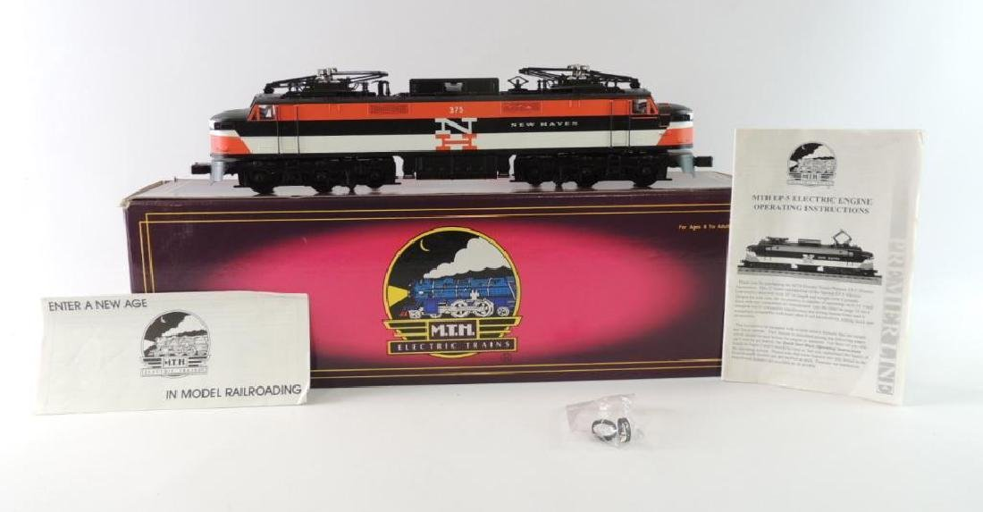MTH New Haven Ep 5 Electric Locomotive O-Scale With