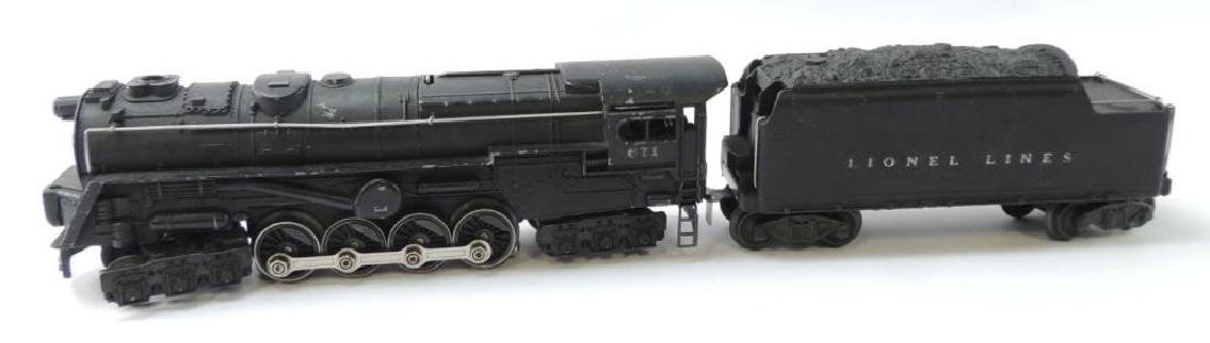 Vintage Lionel Trains Steam Turbine Locomotive With