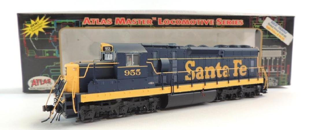 Atlas Master Locomotive Series Santa Fe HO Scale 955