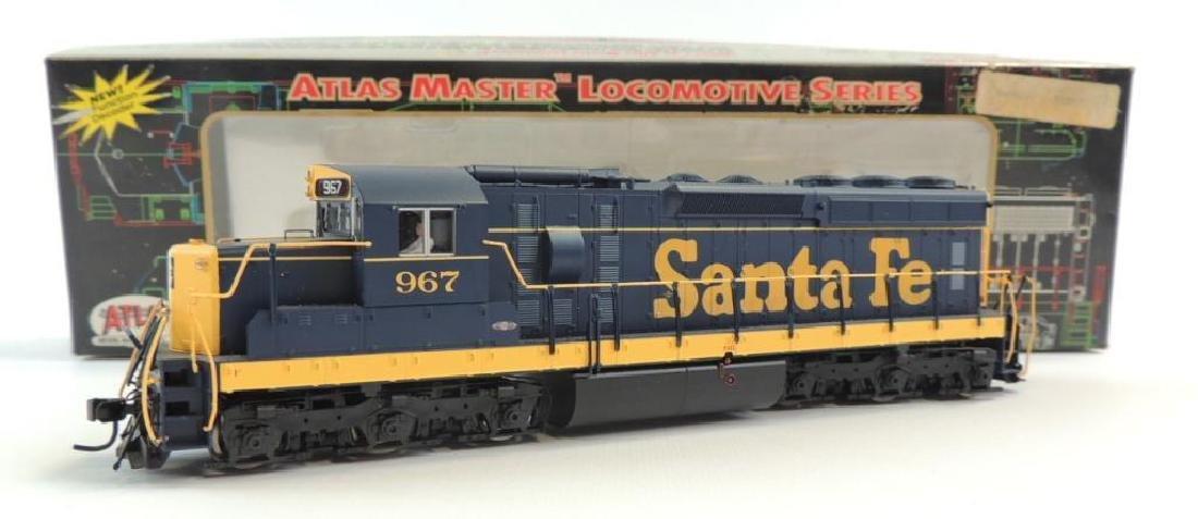 Atlas Master Locomotive Series Santa Fe HO Scale 967