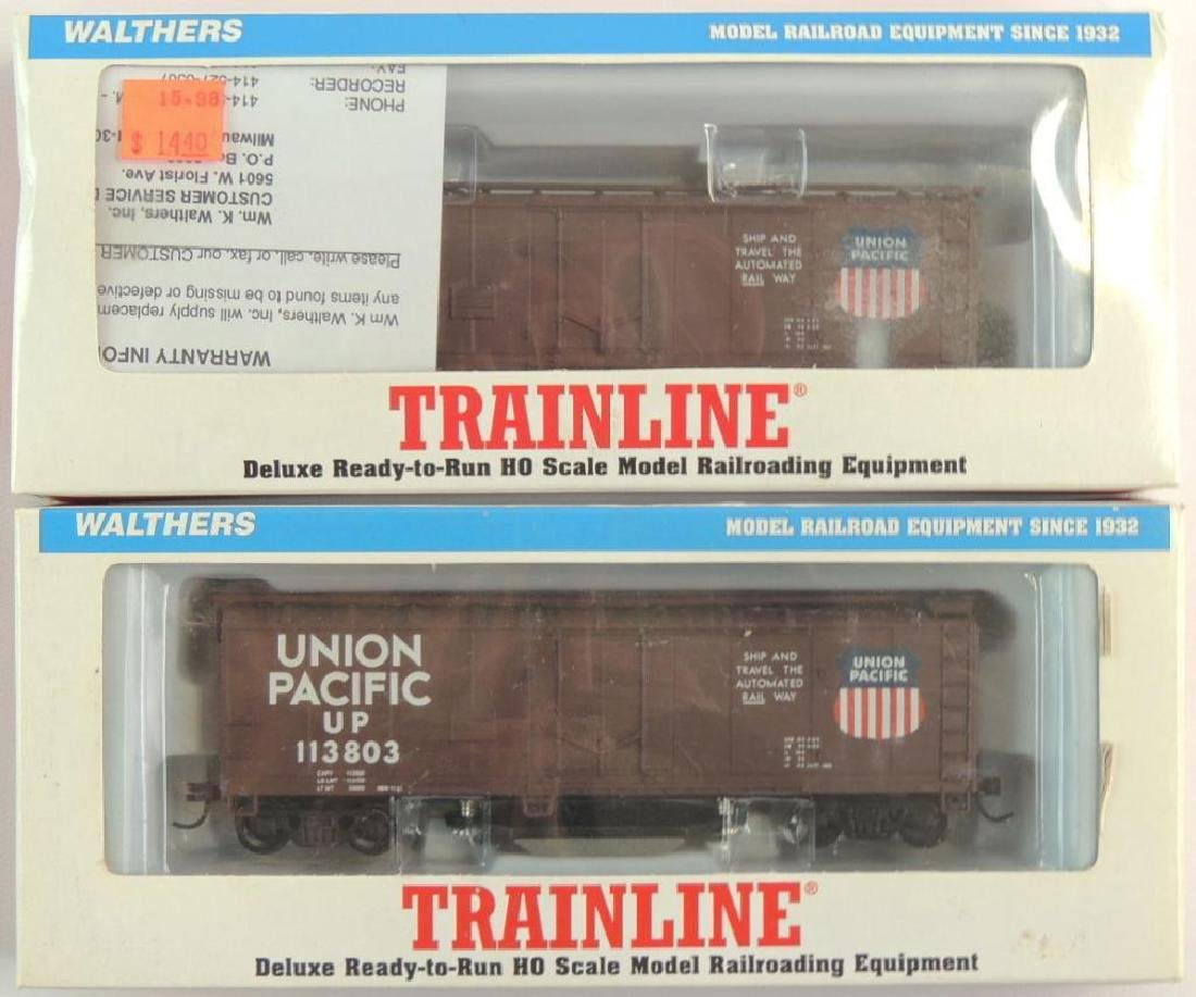 Group of 2 Walthers Trainline HO Scale Union Pacific