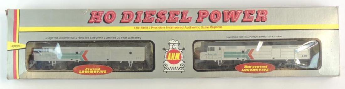 AHM HO Diesel Power Amtrak 235 Locomotives with