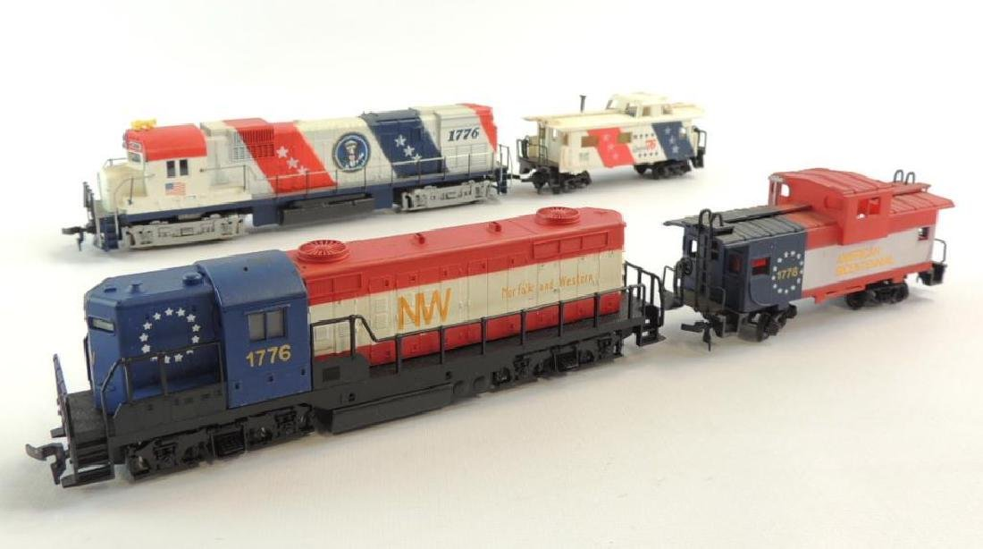 Group of 2 Matua and AHH Spirt of 1776 Locomotives with
