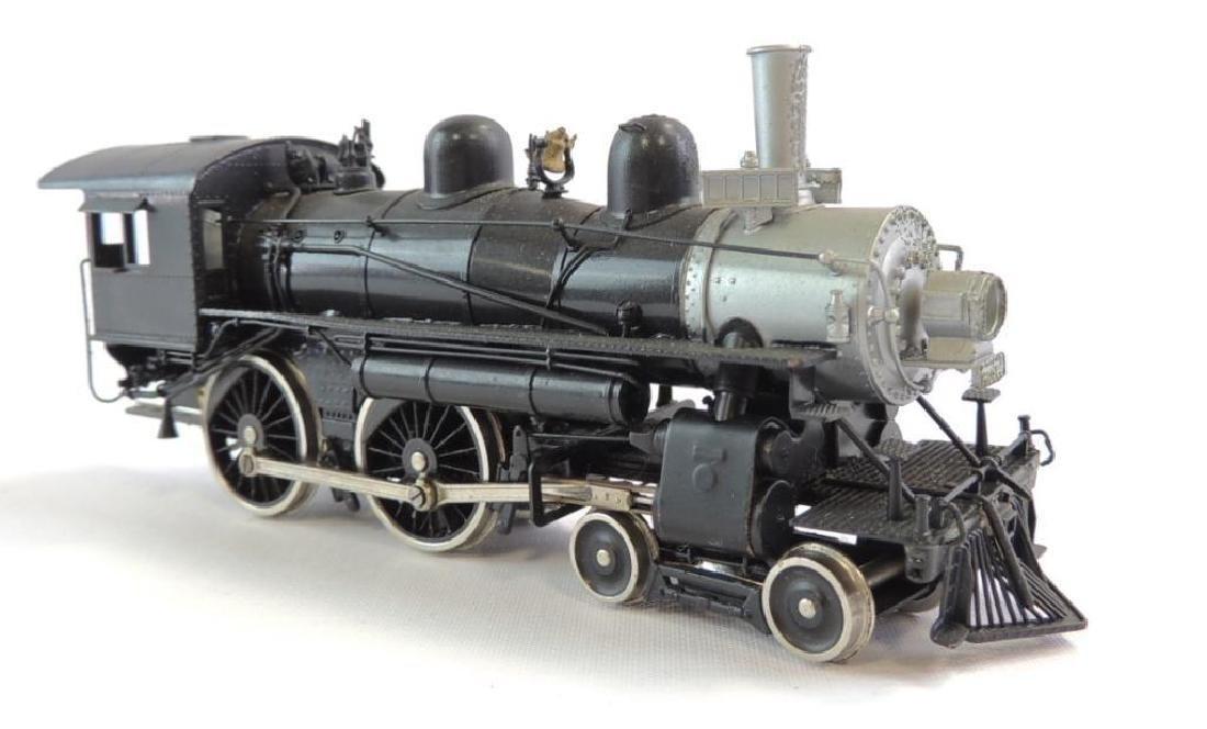 Vintage Fujiyama Brass HO Scale Steam Locomotive
