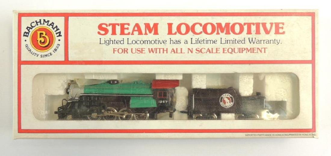 Bachmann Great Northern 1257 N Scale Steam Locomotive
