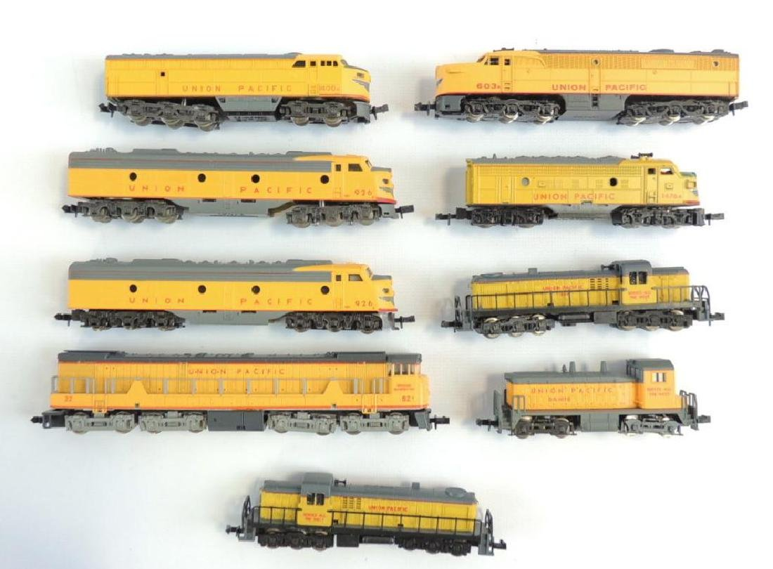 Group of 9 Atlas and Other Union Pacific Diesel