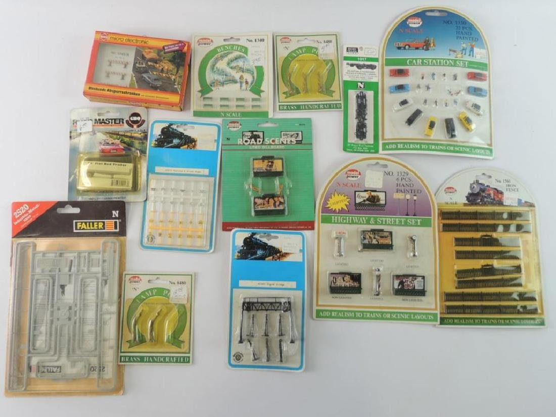 N-Scale Train Modeling Accessories And More
