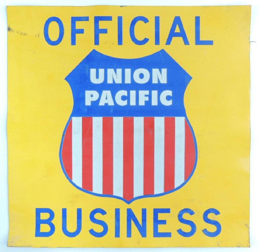 Official Union Pacific Business Car Magnet