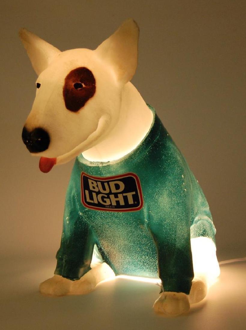 Vintage Spuds Mckenzie Bud Light Advertising Beer Sign - 2