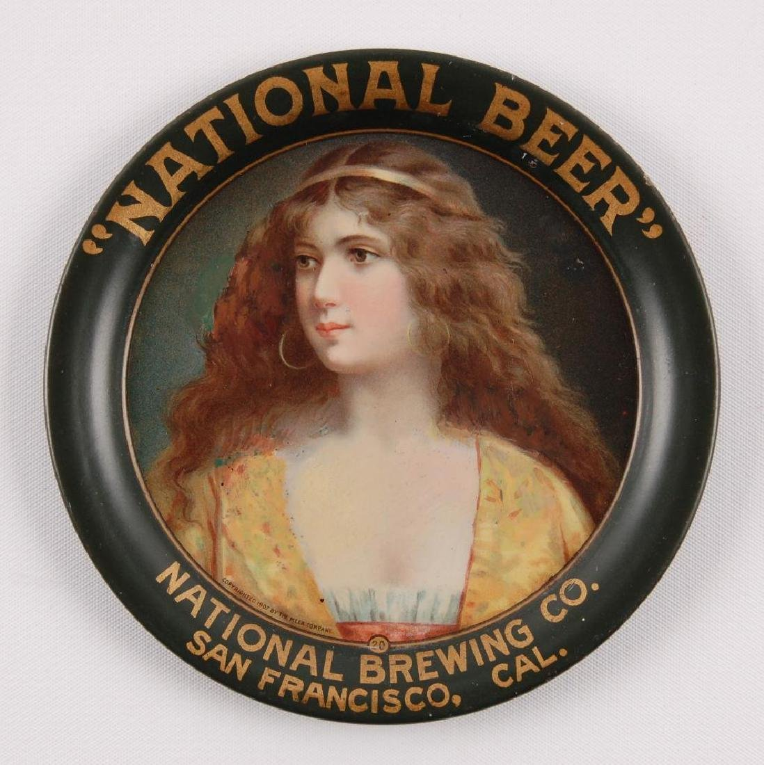 """Pre Prohibition """"National Beer"""" Brewing Co San"""