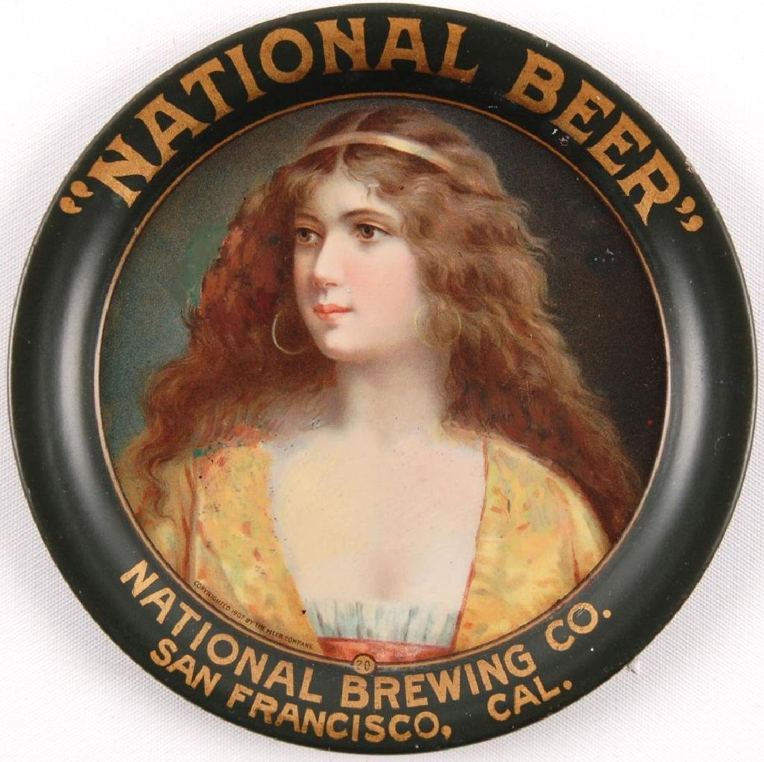 """Pre Prohibition """"National Beer"""" Brewing Co San - 3"""