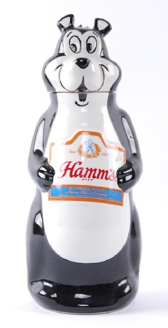 1972 Hamm's Beer Bear Advertising Decanter