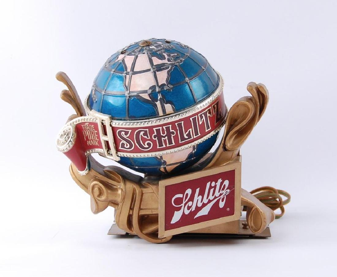 Vintage Schlitz Light Up Advertising Cash Register