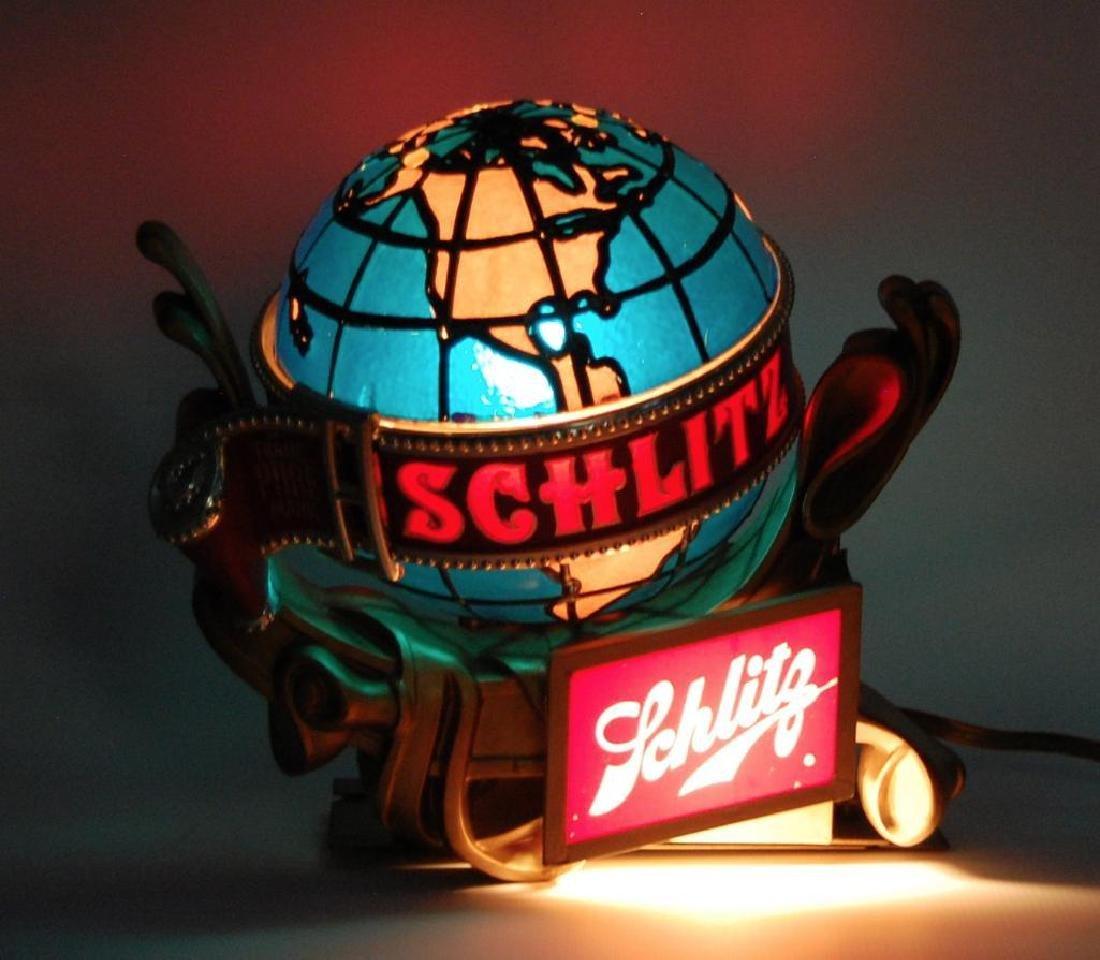 Vintage Schlitz Light Up Advertising Cash Register - 2