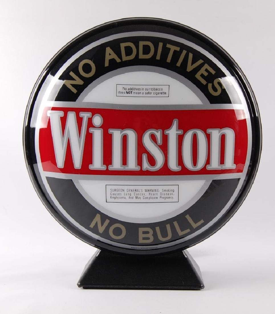 Winston's Cigarettes Light Up Advertising Pub Sign with